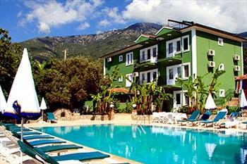 Green Peace Fethiye Hotel'de Sezon Sonuna Kadar Ge�erli 2 Ki�i Gecelik Konaklama ve Kahvalt� 59 TL