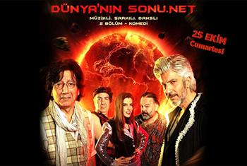 Bunal�mdaki bir yazar ve ilham perisinin hikayesini abs�rt bir dille anlatan m�zikli �ark�l� dansl� 2 b�l�m komedi D�nyan�n Sonu .net oyununa...