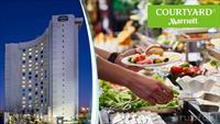 Courtyard Marriott Istanbul'da Zengin Açık Büfe ile Kahvaltı Ziyafeti !