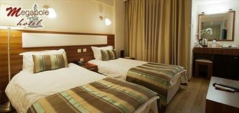 Megapole Hotel'de �zmir'in Kalbinde 2 Ki�i Konaklama!
