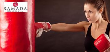 Ramada �stanbul Asia'da Kickboks, Pilates Ve Boks Dersleri!