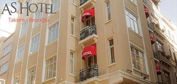 As Hotel Taksim'de 2 Ki�ilik Konaklama Ve Kahvalti!