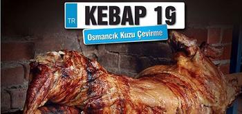 Kebap 19 Me�hur Osmancik Kuzu �evirme'de 2 Ki�ilik Nefis Men�!