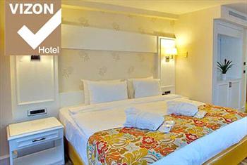 Ni�anta�� Vizon Boutique Hotel'de 2 ki�i 1 gece konaklama, a��k b�fe kahvalt� ve t�m g�n SPA kullan�m� 280 TL yerine 139 TL!