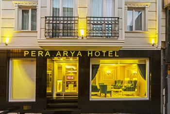 Beyo�lu Pera Arya Otel'de 2 Ki�i 1 Gece Oda Kahvalt� Konaklama Keyfi 269 TL Yerine 149 TL!