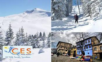 Ces Travel'den 2 G�n 1 Gece Konaklamal� Hafta Sonu Bursa-Uluda�-Cumal�k�z�k Turu 400 TL Yerine 229 TL!