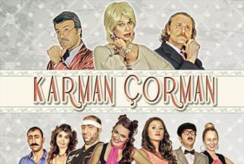 �stanbul Kumpanyas�'ndan muhte�em komedi! Karman �orman komedi oyununa bilet 40 TL yerine 19,90 TL!