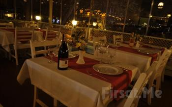 Ortak�y Bodrum Bal�k Restaurant'ta Bo�az�n E�siz G�zelli�i E�li�inde ��ki Dahil Ak�am Yeme�i 97 TL Yerine Sadece 49 TL!