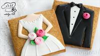 Atölye Ful'den Düğünlere Özel Kurabiye ve Pasta Siparişi!