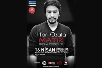 �rfan �zata ve Piiz Matiz Bistro Performance Hall'de