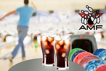 212 AVM AMF Bowling ve Cafe R'de 2 oyun ve se�ece�iniz 1 i�ecek 25 TL yerine 12 TL!