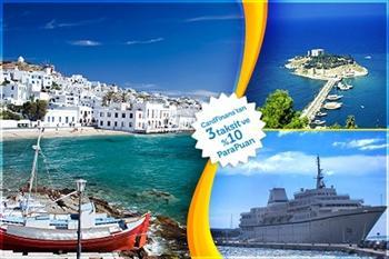 Dorak Tours'dan MV Aegean Odyssey Cruise Gemisi ile 4 G�nl�k Vizesiz Yunan Adalar� Turu 299 TL! (399 TL L�ks Kabin Se�ene�i ile 22 A�ustos'a Kadar...