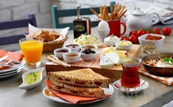 Marmara Denizi Manzaras� E�li�inde Kahvalt� Keyfi! Bayramo�lu Paradise island Otel'de A��k b�fe Kahvalt� F�rsat� 34,90 TL Yerine 17.90 TL!