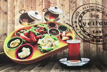 Kartal Benzin Cafe Samarepark'ta Renkli Tepsi Sunumlar� �le Enfes Serpme Kahvalt� Keyfi 35 TL Yerine S�n�rl� Say�da 14,90 TL!