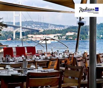 Harikulade bir manzara ile s�n�rs�z tapas keyfi birle�irse...Ortak�y'de Bo�az ve Eski �stanbul... Radisson Blu Bosphorus Hotel, Cruise Lounge'da...