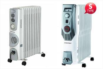 Premier POR 9320 2900W Ya�l� Radyat�r veya Premier POR 9630 2900W Ya�l� Radyat�r S Type 168 TL'den Ba�layan Fiyatlarla!