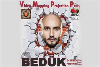 24 Nisan'da Matiz Bistro & Performance Hall'da Video Mapping Projection Party & Bed�k Konseri 17 TL