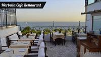 Sultanahmet Marbella Cafe Restaurant'ta Denize Karşı 2 Kişilik Yerli İçecekli Menü!