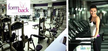 Formback Ya�am Merkezi'nde 1, 3 Ve 6 Aylik Fitness �yelik Paketleri!