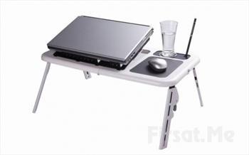 Laptopununuzun �htiya� Duydu�u Her �ey Var! KATLANAB�L�R SO�UTUCULU BARDAK HAZNEL� LAPTOP MASASI 70 TL Yerine 28.90 TL!