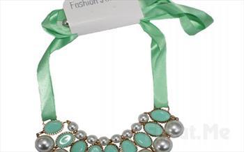 ��kl��n�z�n Tamamlay�c�s� Fashion Jewelry �nci ve Ta� Kar���m� G�steri�li Kolye 65 TL Yerine 28.90 TL!