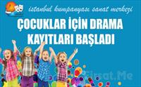 Çocuğunuzun Yeteneklerini Keşfedin! İstanbul Kumpanya'sından Çocuklar İçin 1 Aylık Yaratıcı Drama ve Tiyatro Eğitimi 300 TL yerine 89.90 TL!