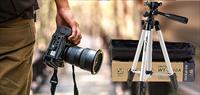 Tripod (Üç Ayak - Telefon Ve Kamera Tutucu) İle Titremeden Net Çekimler!
