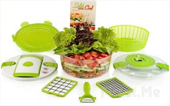 �ok Ama�l� Mekanik Do�ray�c� Genius Salat Chef 199.00 TL Yerine Sadece 129.90 TL!
