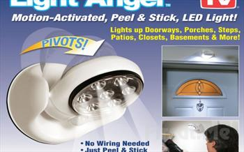 Kablosuz ve Pilli, 360�D�nebilen Light Angel Sens�rl� Duvar Lambas� 49 TL yerine Sadece 22.90 TL!