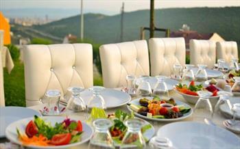 Aydos Ormanlar�'n�n Yan�ba��nda, Bervaze Ortada� Restaurant'ta Bol Oksijenli Kahvalt� Keyfi 9.90 TL'den Ba�layan Fiyatlarla!