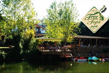 A�va Tree Tops Park Hotel'de Nehir K�y�s�nda S�n�rs�z �ay E�li�inde Enfes Serpme K�y Kahvalt�s� 35 TL Yerine S�n�rl� Say�da 18 TL!
