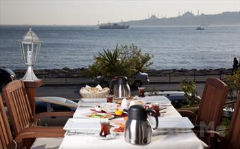 K�z Kulesi Manzaras�'nda Salacak Cafe 5. Cadde'de Enfes Kahvalt� Keyfi 17,90'dan Ba�layan Fiyatlarla!