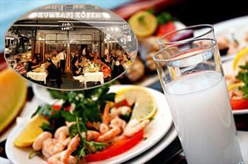 E�lencenin Doru�una ��k�n! Kumkap� K��em Restaurant'ta fas�l e�li�inde yemek men�s� 135 TL yerine 59 TL!