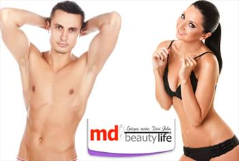 �i�li MD Beauty Life'ta Bay ve Bayanlar i�in 1 y�ll�k s�n�rs�z epilasyon paketleri 79 TL!(S�n�rl� say�da)