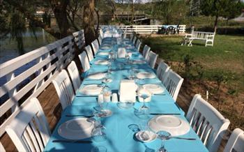 A�va Tree Tops Park Restaurant'ta Nehir Kenar�nda Serpme Kahvalt� F�rsat� 35 TL Yerine Sadece 19.90 TL!