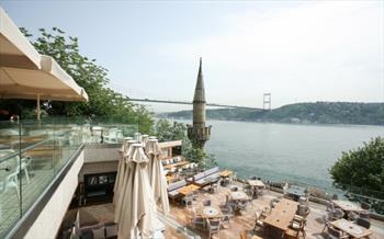Rumeli Hisar� Seyir Terrace Restaurant'ta Muhte�em Bo�az Manzaras� ve Canl� Keman Solosu E�li�inde Organik K�y Kahvalt�s� 18.90 TL'den Ba�layan...