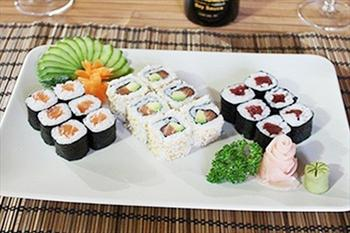 Sushi World'te 1 Ki�ilik Maki ve Roll Men�lerinde Ge�erli S�n�rs�z Sushi Men�s� 34,9 TL