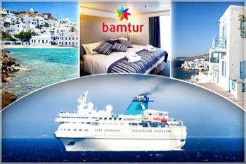Vizesiz Mykonos! Bamtur'dan Cruise Gemisinde 3 Gece Her �ey Dahil Konaklama 1200 TL Yerine 599 TL! (30 Haziran ��k��l� Turda Ge�erlidir)