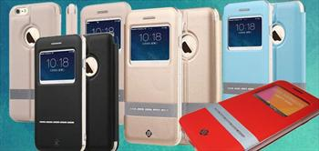Totudesign �phone 6 / �phone 6 Plus Pencereli Akilli Kilif!