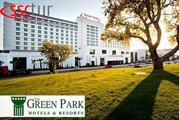 5 * The Green Park Pendik'te 2 Kii 1 Gece Oda + Kahvalt Konaklama 440 TL Yerine 199 TL!