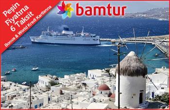 Vizesiz Yunan Adalar�na Gidiyoruz! 4 Y�ld�zl� Cruise Gemisiyle 7 Gece 8 G�nl�k Ultra Her �ey Dahil Masal Gibi Bir Mavi Yolculuk 2.000 TL Yerine 1.299...