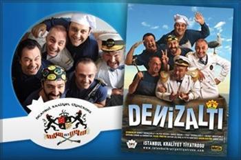 Profilo Al��veri� Merkezi'nde �stanbul Kraliyet Tiyatrosu'nun En Be�enilen Oyunlar�ndan Denizalt� na Giri� Biletiniz 30 TL Yerine 15 TL! (27 Nisan'a...