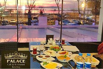 Maltepe Palace Cafe'de s�n�rs�z �ay e�li�inde zengin serpme kahvalt� keyfi 40 TL yerine 25 TL!