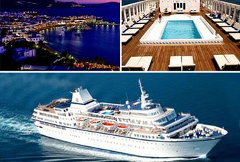 Sizi Muhte�em Bir Gemiyle Geziye Davet Ediyoruz Hem de Yunanistan'a ve Vizesiz! L�ks Aegean Odyssey Cruise Gemisiyle 4 G�n Boyunca 2 Ki�i Tam...