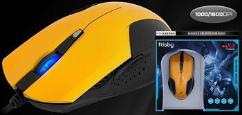 Y�ksek Performansli Frisby Kablolu Optik Oyun Mouse!