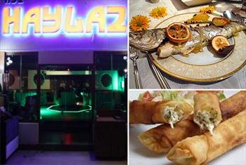 Galata Haylaz Lounge'de Haftan�n Her G�n� Canl� M�zik ve S�n�rs�z E�lence E�li�inde Enfes Men� 70 TL Yerine 39,90 TL'den Ba�layan Fiyatlarla!