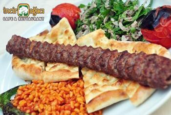 Kocamustafapa�a �ncir A�ac� Restaurant'da Enfes Kebap Men� Ki�i Ba�� 39 TL Yerine 19,90 TL'den Ba�layan Fiyatlarla!