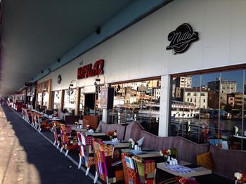 Galata Haylaz Lounge'de Deniz Manzaras�na Kar�� SINIRSIZ �AY E�li�inde serpme kahvalt� keyfi 35 TL yerine 19,90 TL!