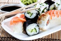 Mirror Suadiye'de 2 ya da 3 Ki�ilik 28 Par�a Sushi Men� 59 TL
