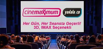 T�m Cinemaximum'larda Her G�n Ge�erli Sinema Bileti!